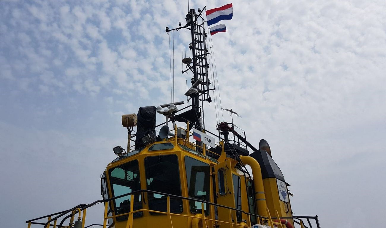 Used Damen Stan Tug 2909 arrived at Damen yard in The Netherlands