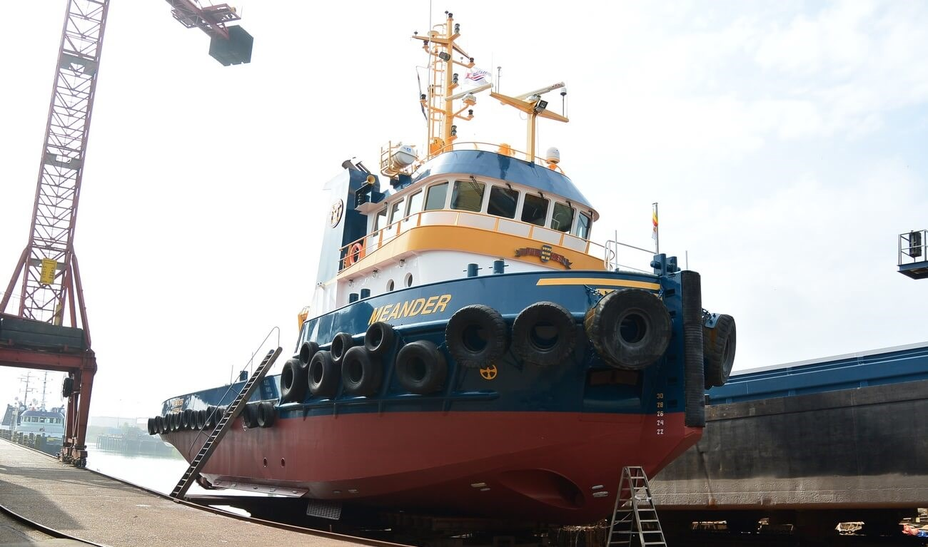 MULTI PURPOSE TUGBOAT SOLD TO CANADA