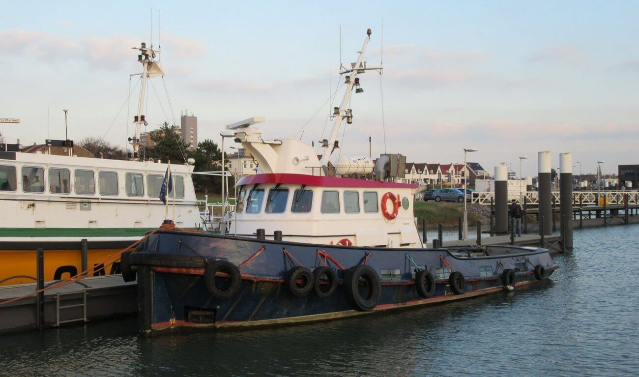 SINGLE SCREW TUGBOAT SOLD TO GHANA