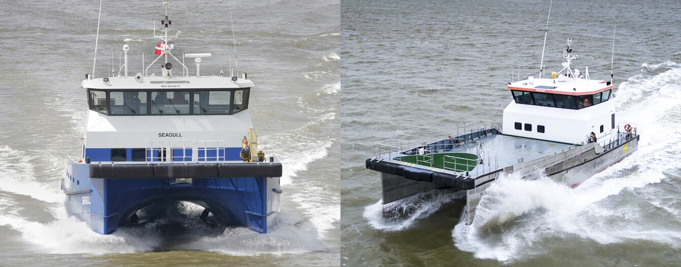 Damen Fast Crew Suppliers 2610 'Twin Axe' and 'FCS Seagull' sold