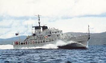 The traded-in patrol boats were modified to our customer's needs and sailed to Nigeria