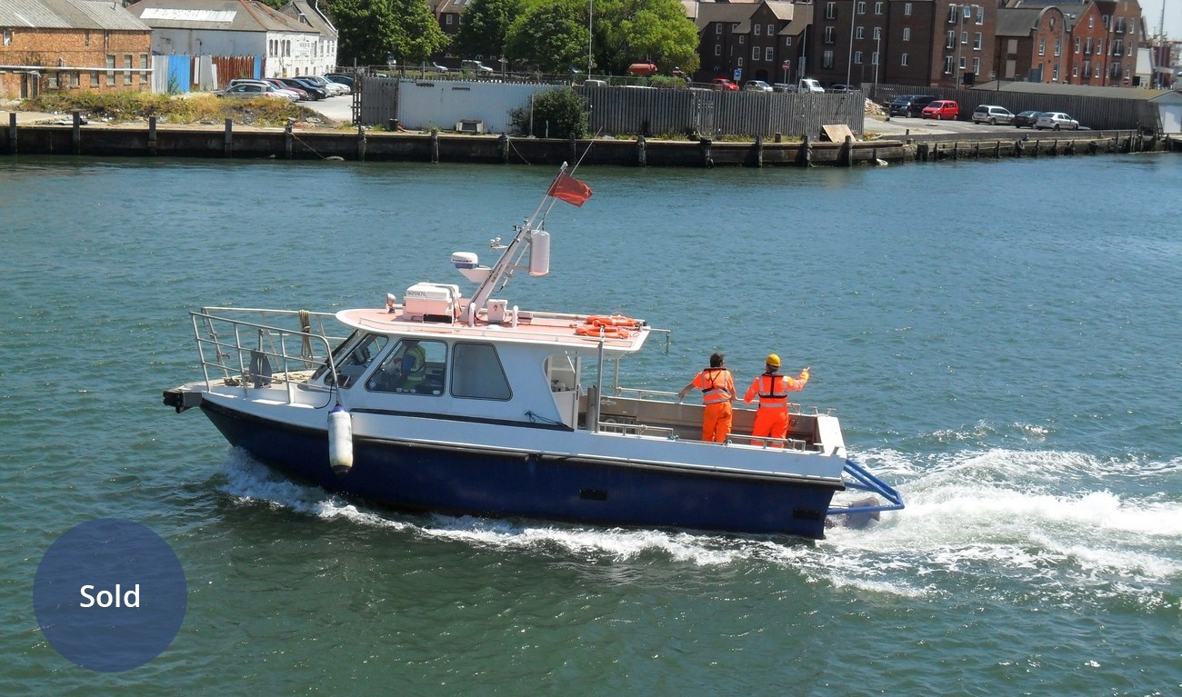 Crew workboat sold
