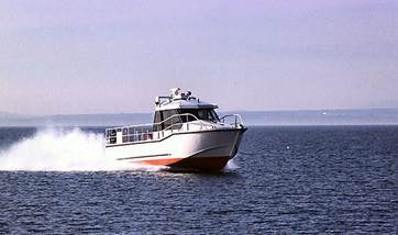 Used Fast Patrol vessel with 32 knots max. speed