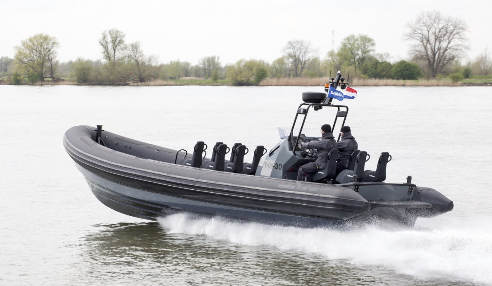 Damen RHIB 1050 with inboard engines for sale