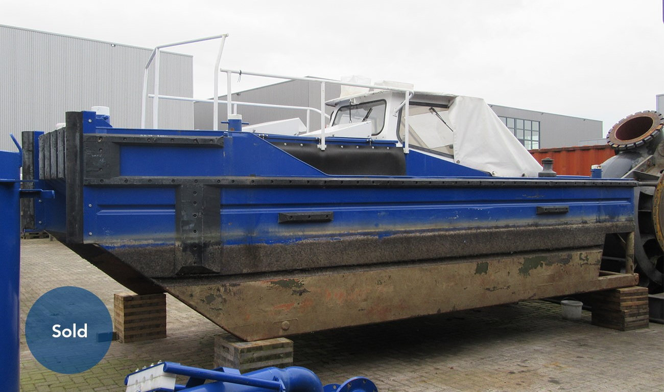 07414 Bridge Support Boat 700 recently sold