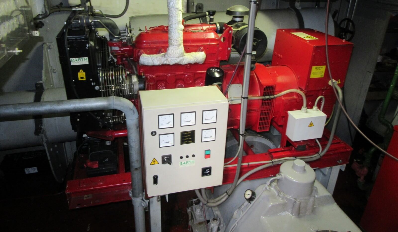 Generator set of second hand tug