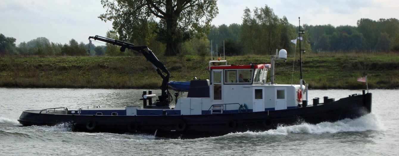used tug pushboat for sale - damen trading