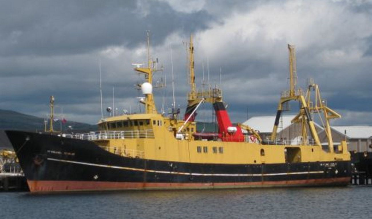 Sale of research vessel 'SD Colonel Templer'
