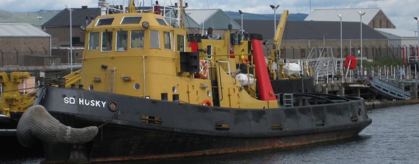 "Tugboats 'SD Sheepdog' and 'SD Husky' were sold from U.K. owner ""Serco"" to Nigerian end-user."
