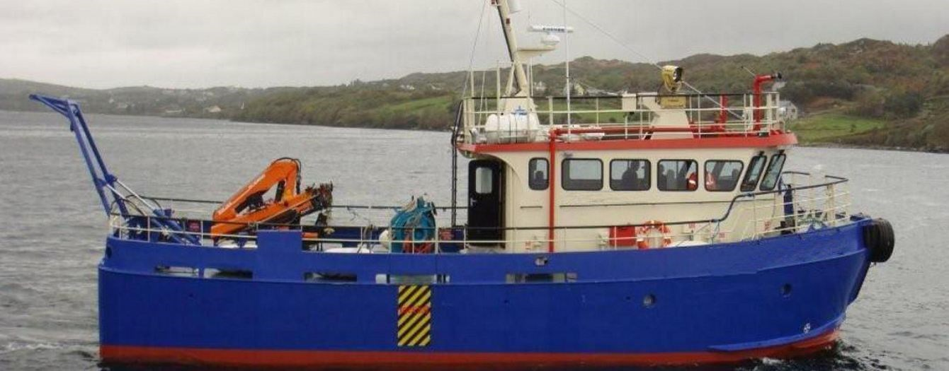On the 11th of January 2013 transfer of ownership took place of the workboat 'SMS Ocean Cat'.
