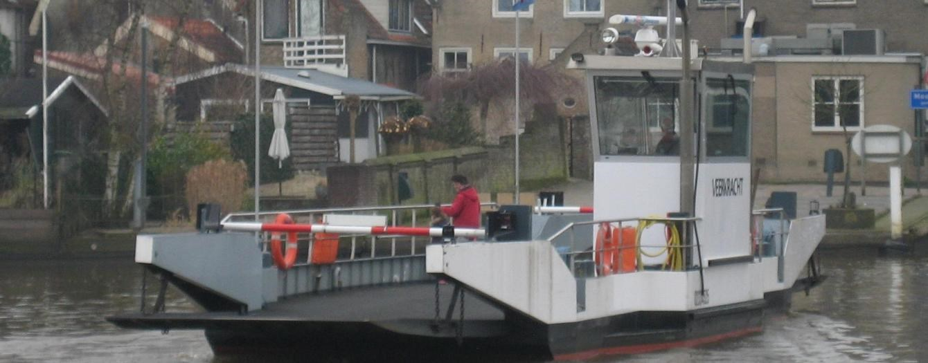 "Today the inland ferry 'Veerkracht' has been transferred from Dutch owner to Dutch owner ""Gemeente Zaltbommel""."