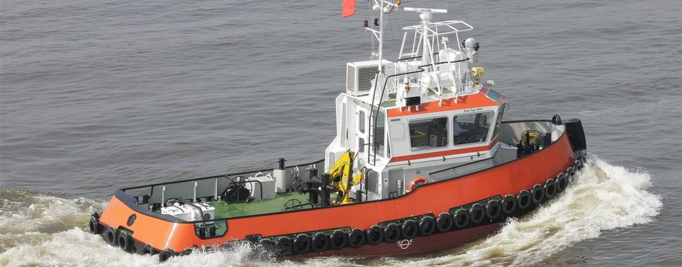 Today the Damen Stan Tug 1606 'Anita G' has been transferred to the new owner S. Walsh in the U.K.