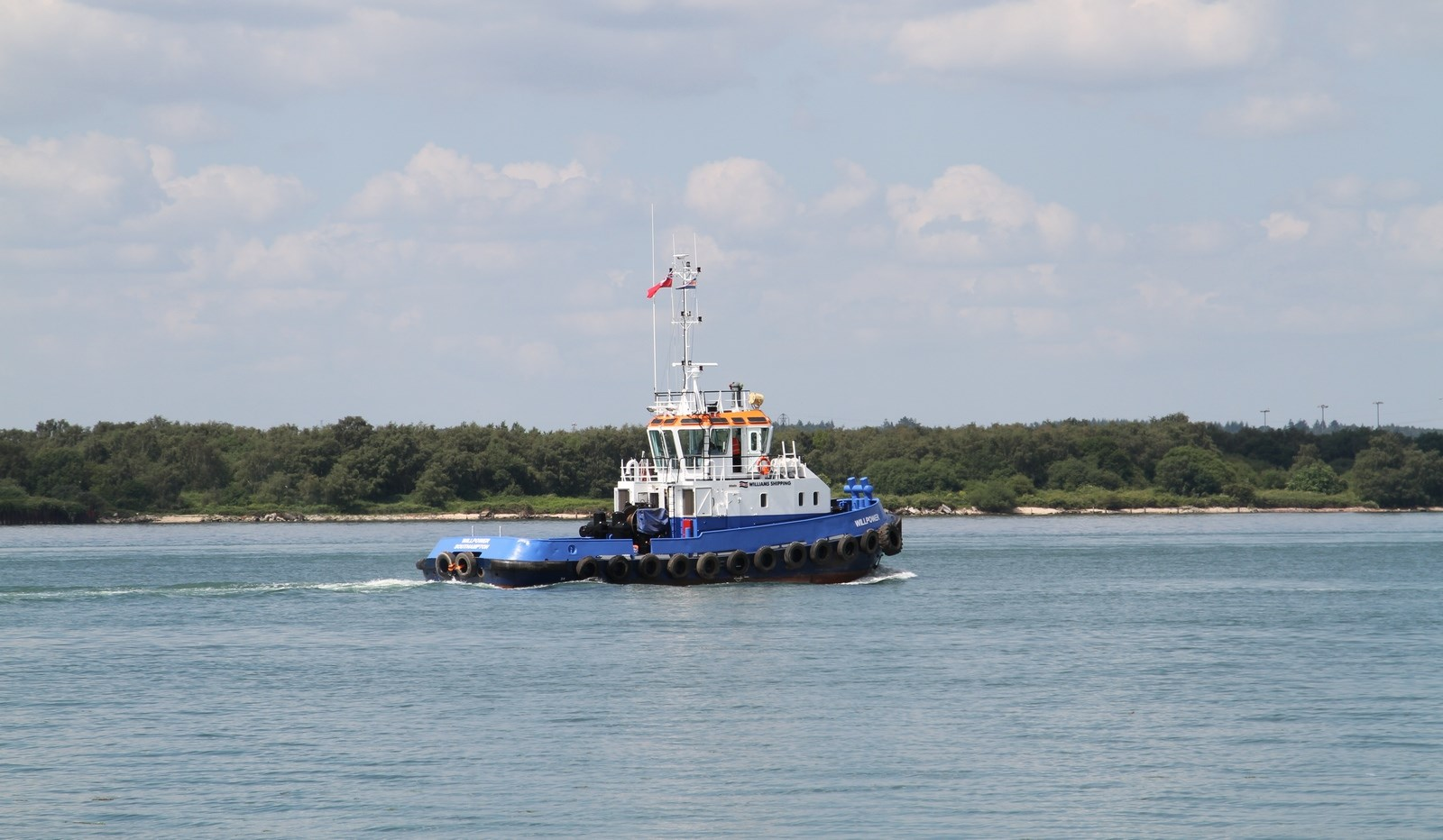 "Today the Damen Stan Tug 2207 ""Sidi Moussa"" was transferred from the Moroccan owner to Williams Shipping Marine Ltd. in the U.K."