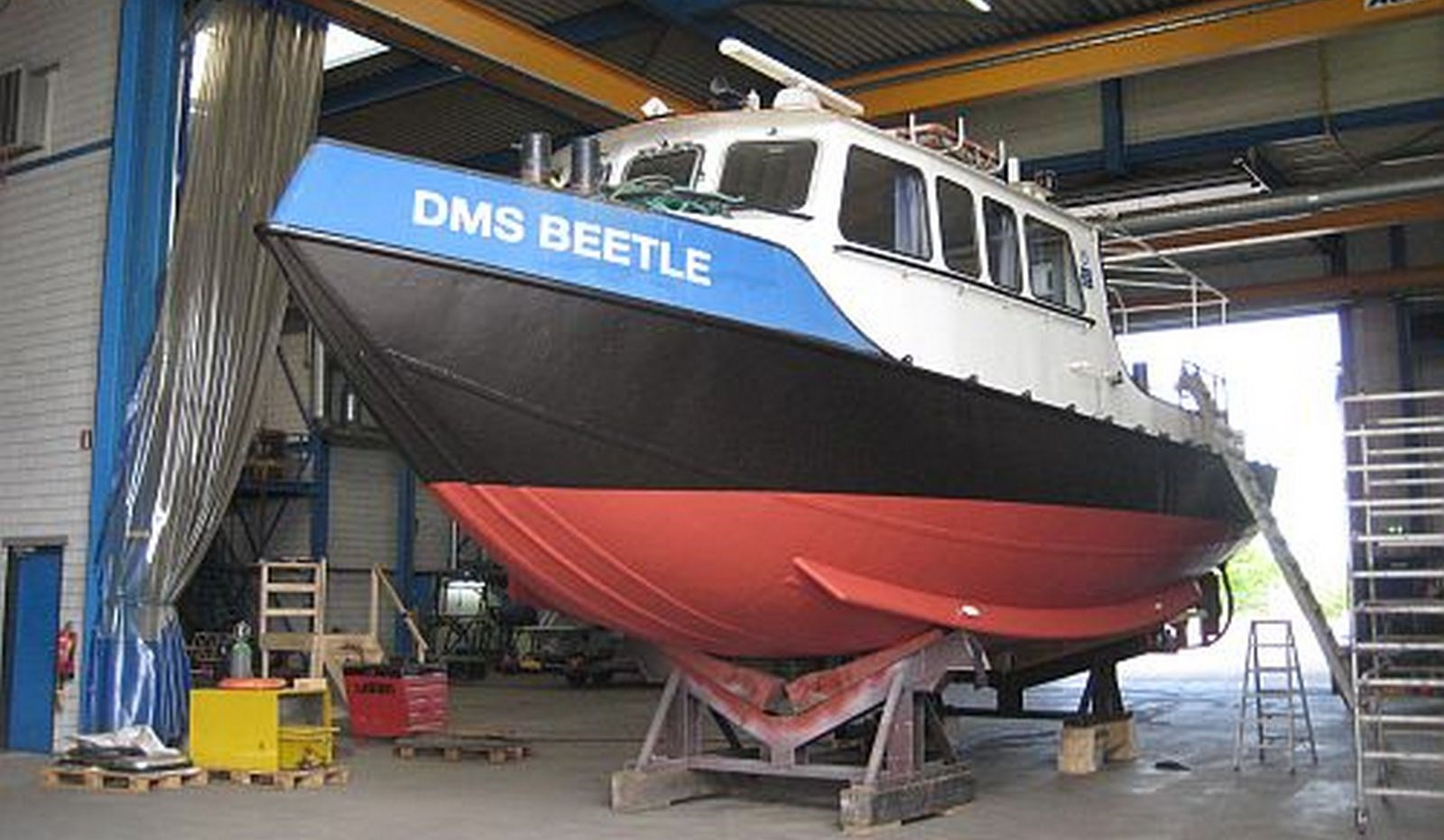 "Today our Damen Stan Launch 46 ""DMS Beetle"" has been sold to Alma Shipping N.V., Curacao."