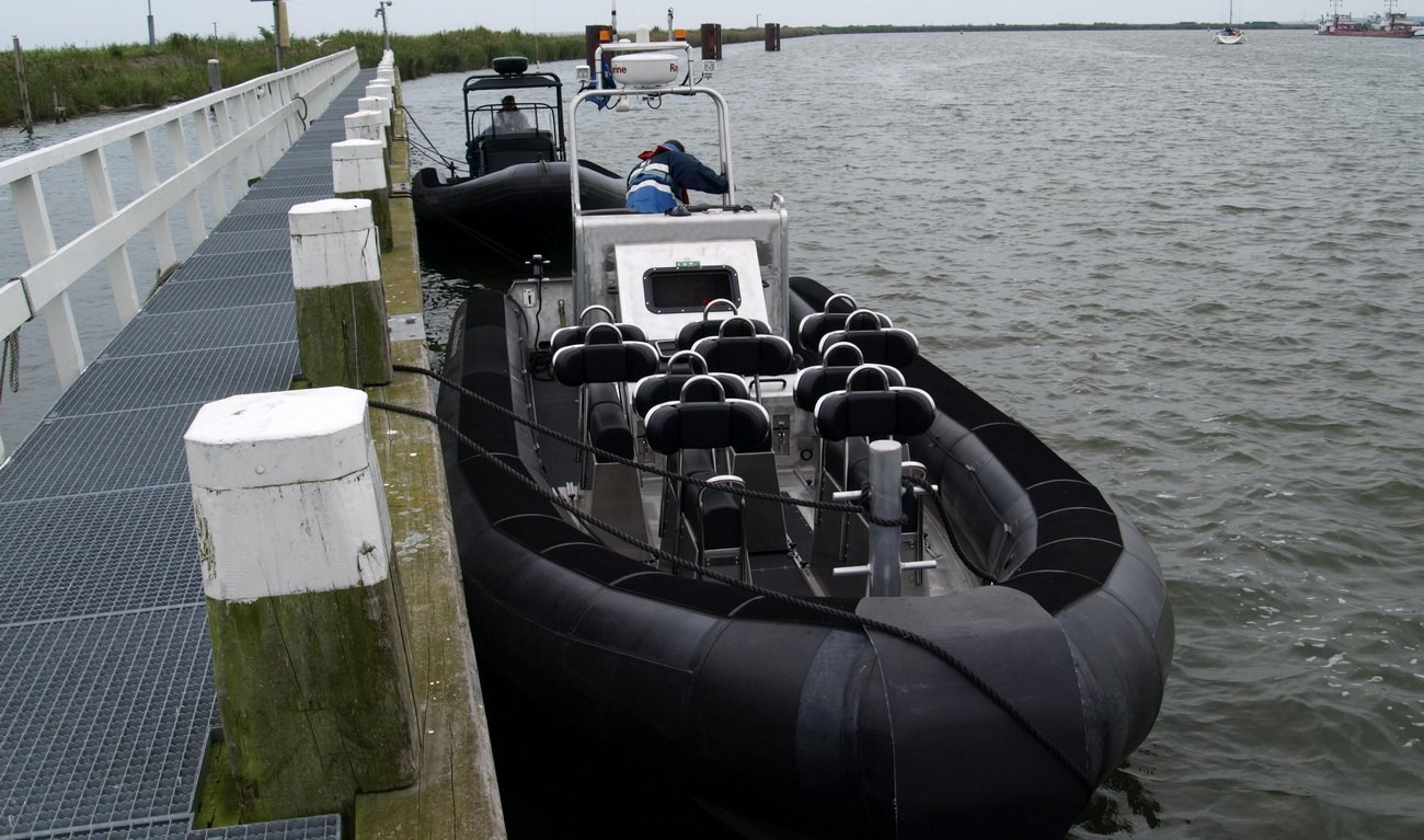 Aluminium RIB with 33 knots speed was sold to Dutch operator