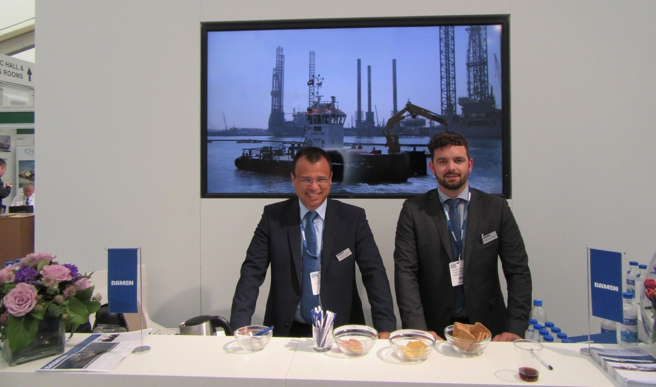 The Seawork exhibition in Southampton is again a success