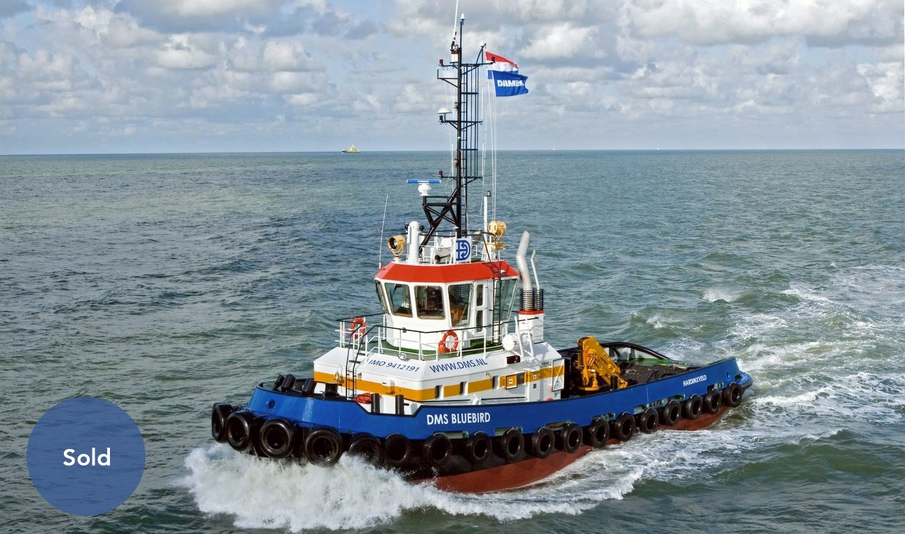 Damen Stan Tug 2608 was recently sold