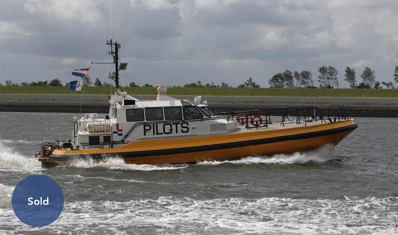 Pilot/crew tender was recently sold