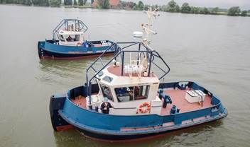 Our well respected customer Svitzer bought two ASD tugboats 3212 and traded in their three year old small DAMEN Stan Tugs 1205